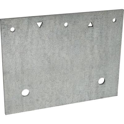 Simpson Strong-Tie 7 ga Galvanized Steel Anchor Plate