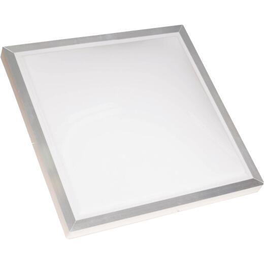 Kennedy Skylights 24 In. x 24 In. White Aluminum Frame Curb Mount Skylight