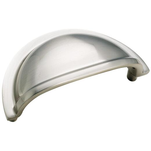 Amerock Advantage Sterling Nickel Traditional 3 In. Cabinet Pull