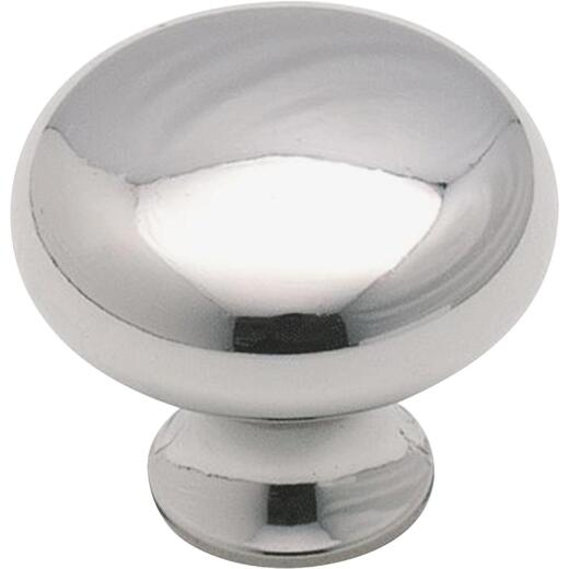 Amerock The Anniversary Collection Chrome 1-3/16 In. Cabinet Knob