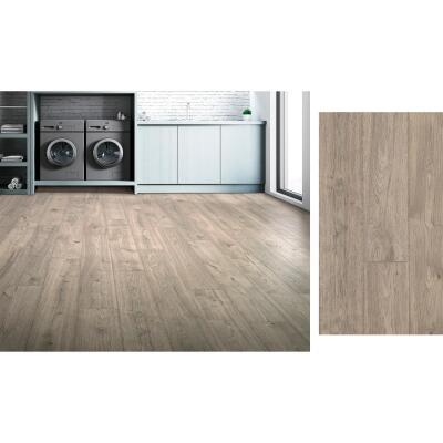 Mohawk RevWood Plus Elderwood Asher Gray 7-1/2 In. W x 54-11/32 In. L Laminate Flooring (16.98 Sq. Ft./Case)