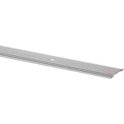 M-D Silver Satin 1-1/4 In. x 3 Ft. Aluminum Seam Binder