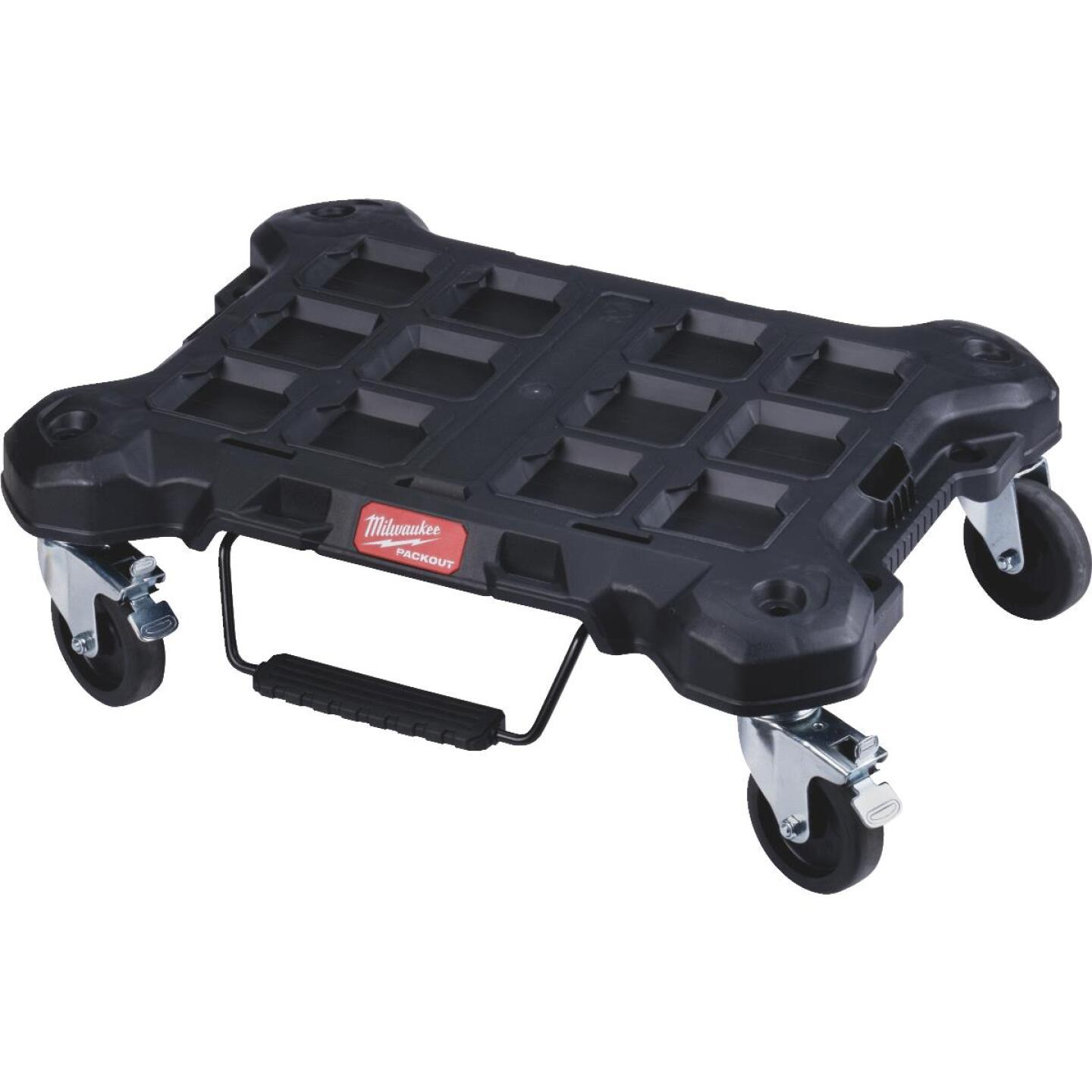 Milwaukee PACKOUT 18.8 In. W x 24.4 In. L Platform Cart, 250 Lb. Capacity Image 1