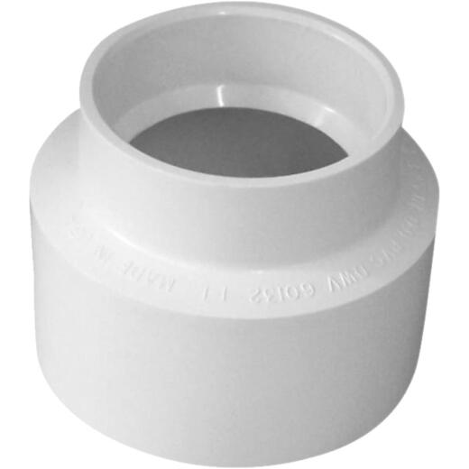 Genova 2 In. x 3 In. PVC Sewer and Drain Coupling