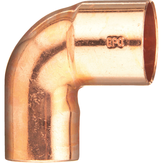 Mueller Streamline 3/8 In. 90 Degree Close Ruff Copper Street Elbow