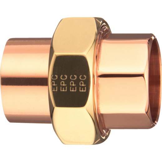 Mueller Streamline 1/2 In. C x C Solder-Joint Copper Union
