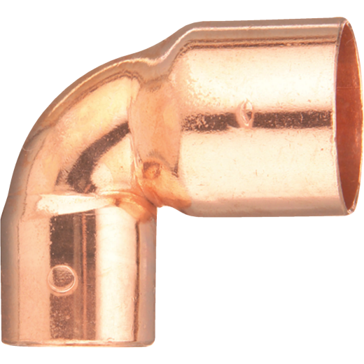 Mueller Streamline 1 In. X 3/4 In. CxC 90 Degree Reducing Copper Elbow