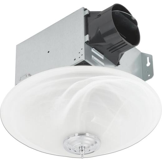 Delta BreezGreenBuilder 100 CFM 1.5 Sones 120V Bath Exhaust Fan