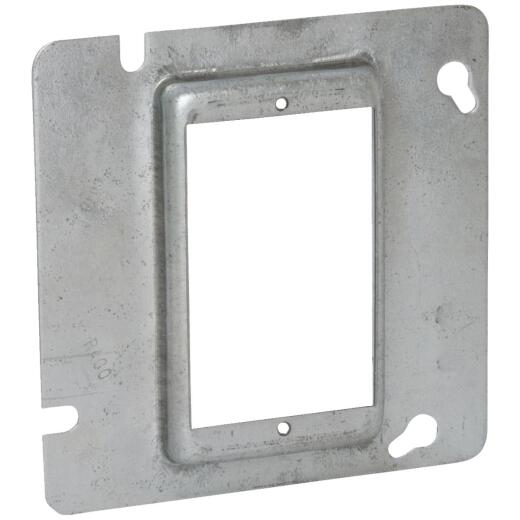 Raco 1-Device Combination 4-11/16 In. x 4-11/16 In. Square Raised Cover