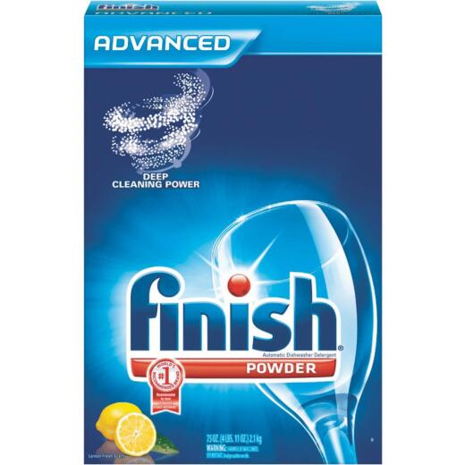 Finish 75 Oz. Powder Lemon Dishwasher Detergent