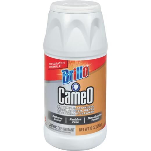 Brillo Cameo 10 Oz. Aluminum, Stainless Steel, Copper, Brass & Porcelain Cleaner