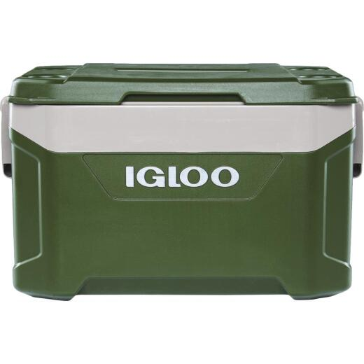 Igloo Sportsman Latitude 50 Qt. Cooler, Tank Green & Sandstone