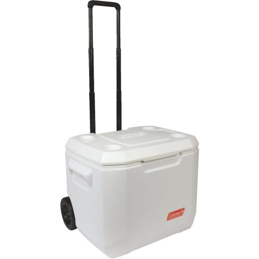 Coleman Coastal Xtreme Series 50 Qt. 2-Wheeled Cooler, White