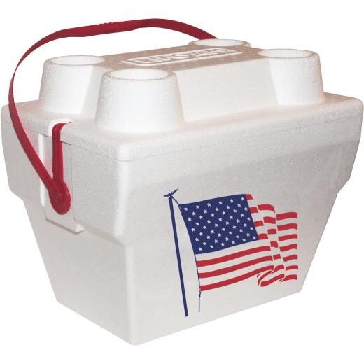 Lifoam 17 Qt. Cooler, White